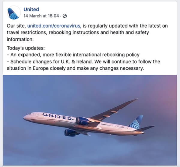 United Airlines Dedicated Web Page | Conversion Digital